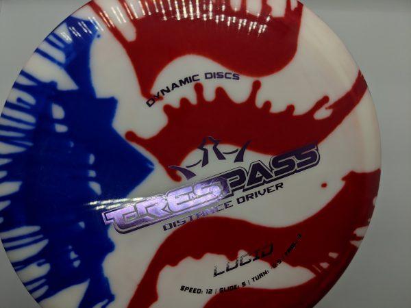 Dynamic Discs Lucid MyDye Trespass